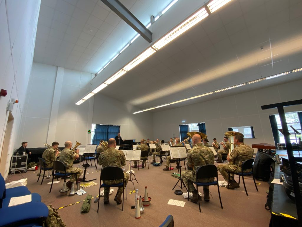 Hymne Rehearsal